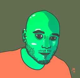 Self portrait by ILLMAGUS