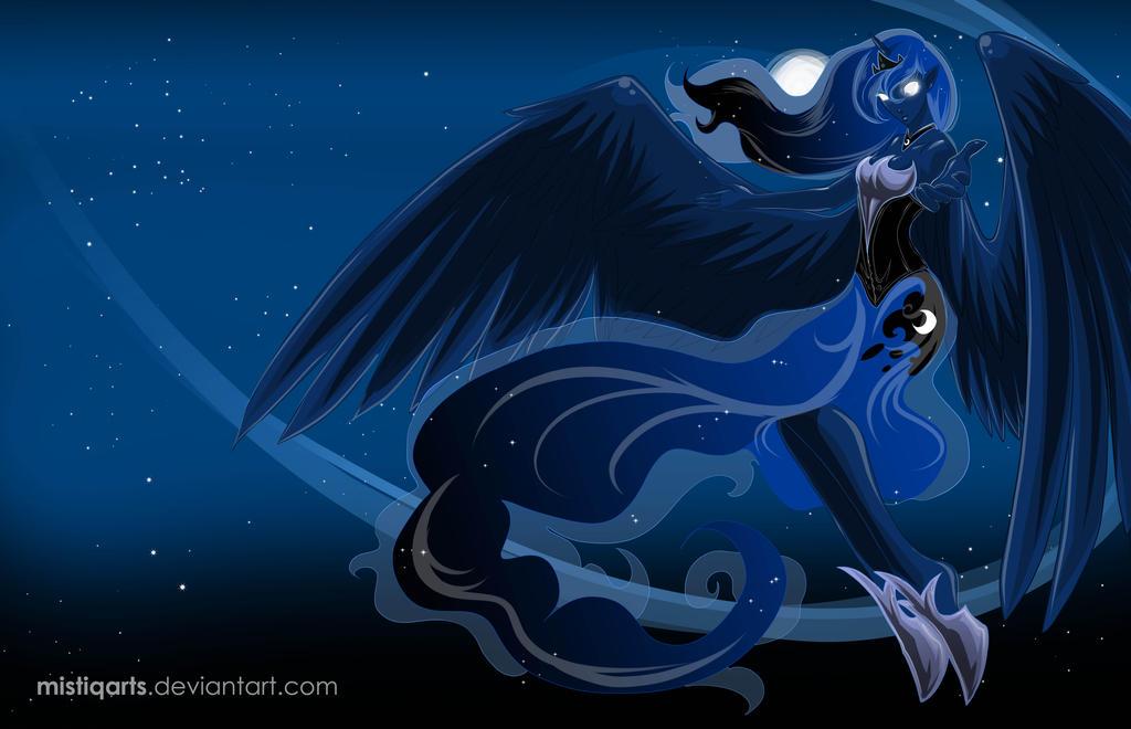 Princess Luna Walpaper by Mistiqarts on DeviantArt
