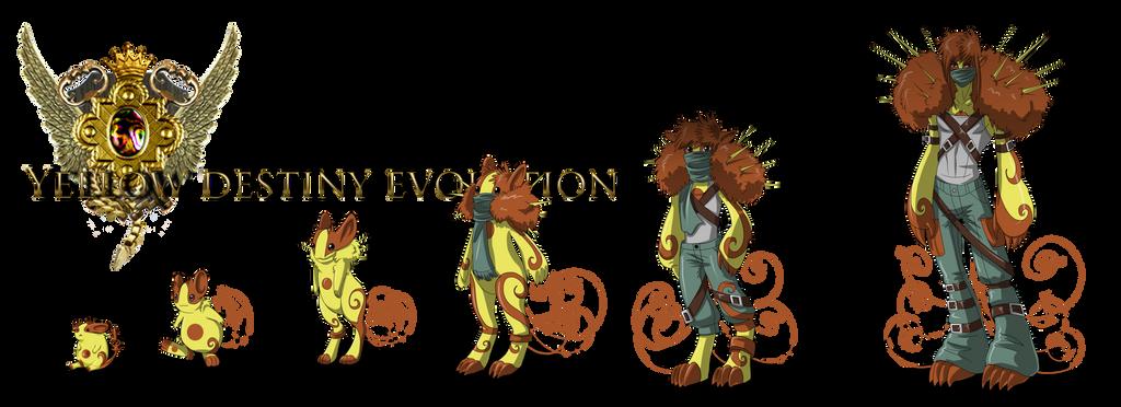 Yellow Guardian evolution by Mistiqarts