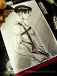 Shirtless Levi