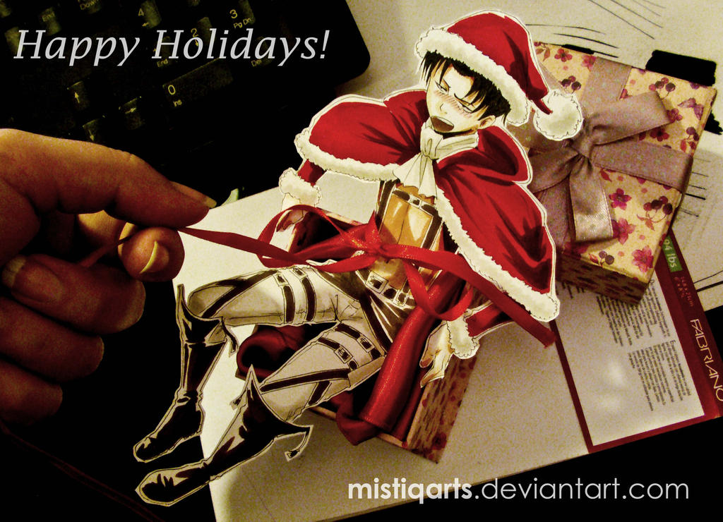 Christmas Levi by Mistiqarts