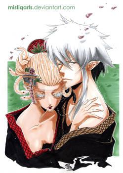 Albino circus Kimono honey moon