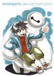 Big Hero 6 Baymax and Hiro