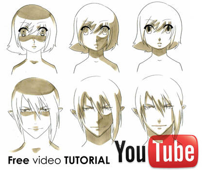 How To Draw Manga: Shading Faces Video Tutorial