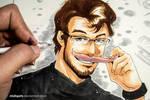 Markiplier Manga Portrait