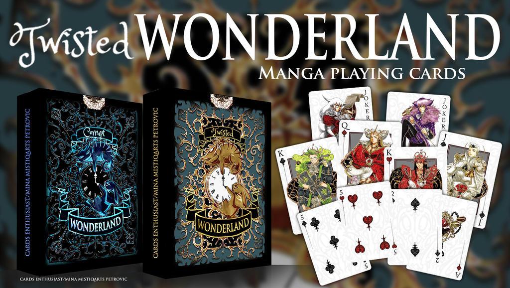 FANTASY WONDERLAND CARD DESIGN by Mistiqarts