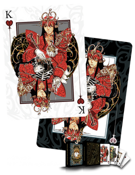 King of hearts Card Design