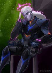 Prince Lotor by Mistiqarts