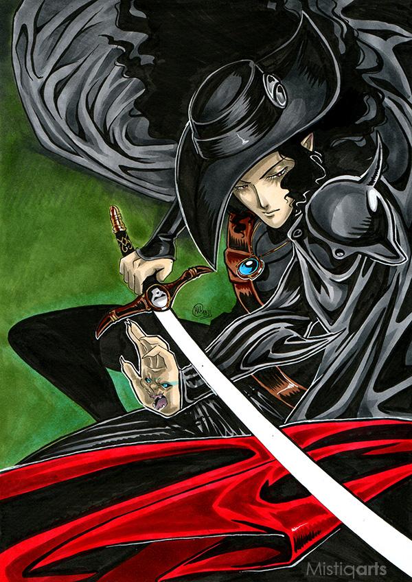 Vampire Hunter D by Mistiqarts