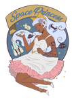 Space Princess Rockabilly Allura by Mistiqarts