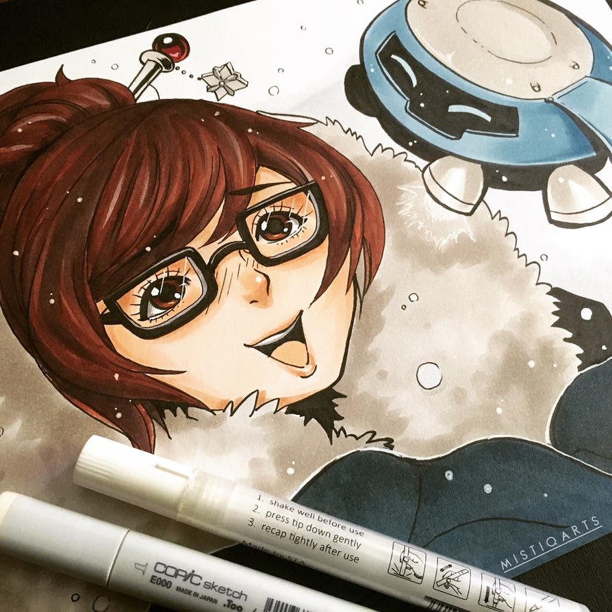 Snowflakes by Mistiqarts