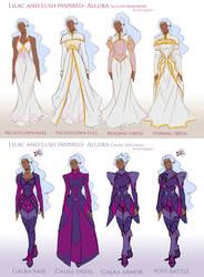 Lilac and Lush Wrdrobe: Allura by Mistiqarts
