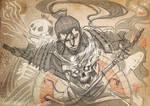 Gothic Samurai Sketch