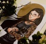 Copic Manga Portrait