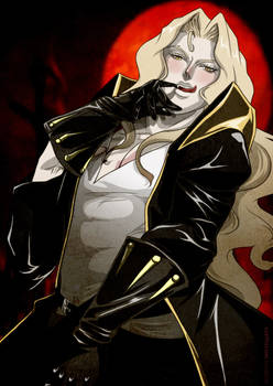Alucard is hungry