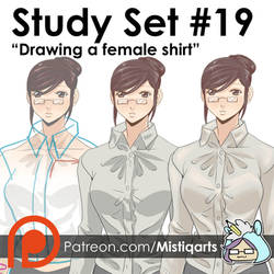 Study Set #19: Essentials of drawing a femal by Mistiqarts