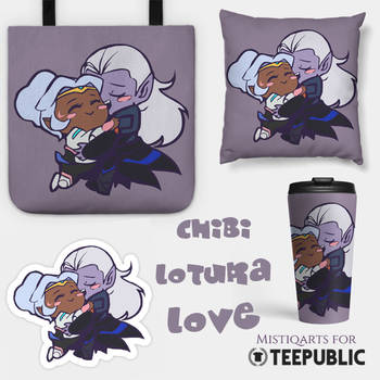 Chibi Lotura Merch by Mistiqarts
