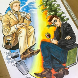 Good omens Best Boiz by Mistiqarts