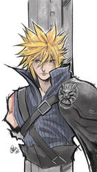 Cloud Strife by Mistiqarts
