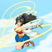 Magical Wonder Girl by Joe-Sketch