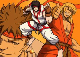 Kyu or Ren by Joe-Sketch