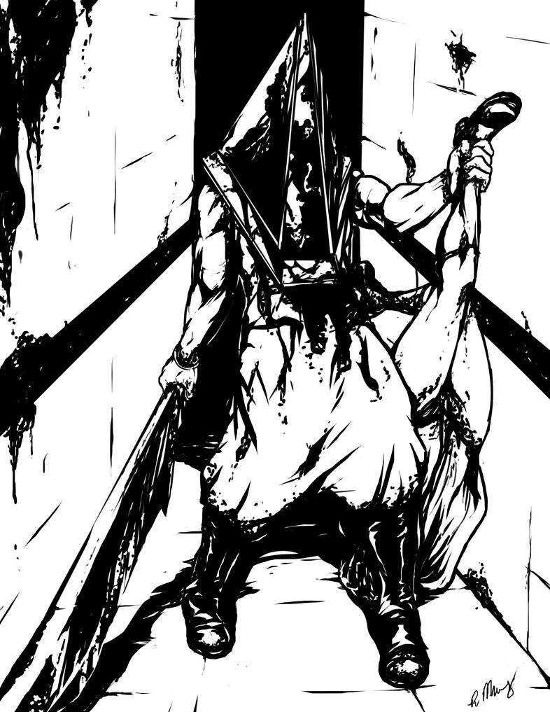 Pyramid Head by RaJoMu