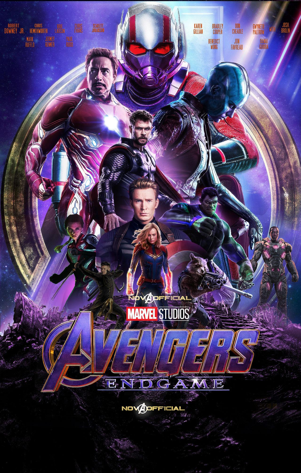 AVENGERS : ENDGAME - 2019 - Russo Brothers Avengers_endgame_poster_by_iamtherealnova_dcu3a1p-fullview.jpg?token=eyJ0eXAiOiJKV1QiLCJhbGciOiJIUzI1NiJ9.eyJzdWIiOiJ1cm46YXBwOjdlMGQxODg5ODIyNjQzNzNhNWYwZDQxNWVhMGQyNmUwIiwiaXNzIjoidXJuOmFwcDo3ZTBkMTg4OTgyMjY0MzczYTVmMGQ0MTVlYTBkMjZlMCIsIm9iaiI6W1t7ImhlaWdodCI6Ijw9MjAwNyIsInBhdGgiOiJcL2ZcLzY3NGIzNmYwLTc3NzEtNDE4OC1iMzgyLWFkZTJkNDk1NTQ0YVwvZGN1M2ExcC1hODdlYWMyZi0zZDI0LTRlYjgtOTBhNi0yYzc4MzEzNDQzNjIucG5nIiwid2lkdGgiOiI8PTEyODAifV1dLCJhdWQiOlsidXJuOnNlcnZpY2U6aW1hZ2Uub3BlcmF0aW9ucyJdfQ