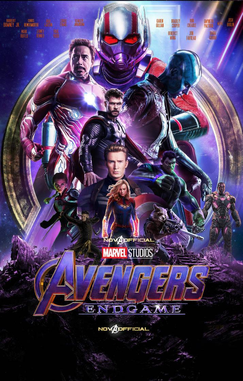 Avengers Endgame Poster By Iamtherealnova On Deviantart