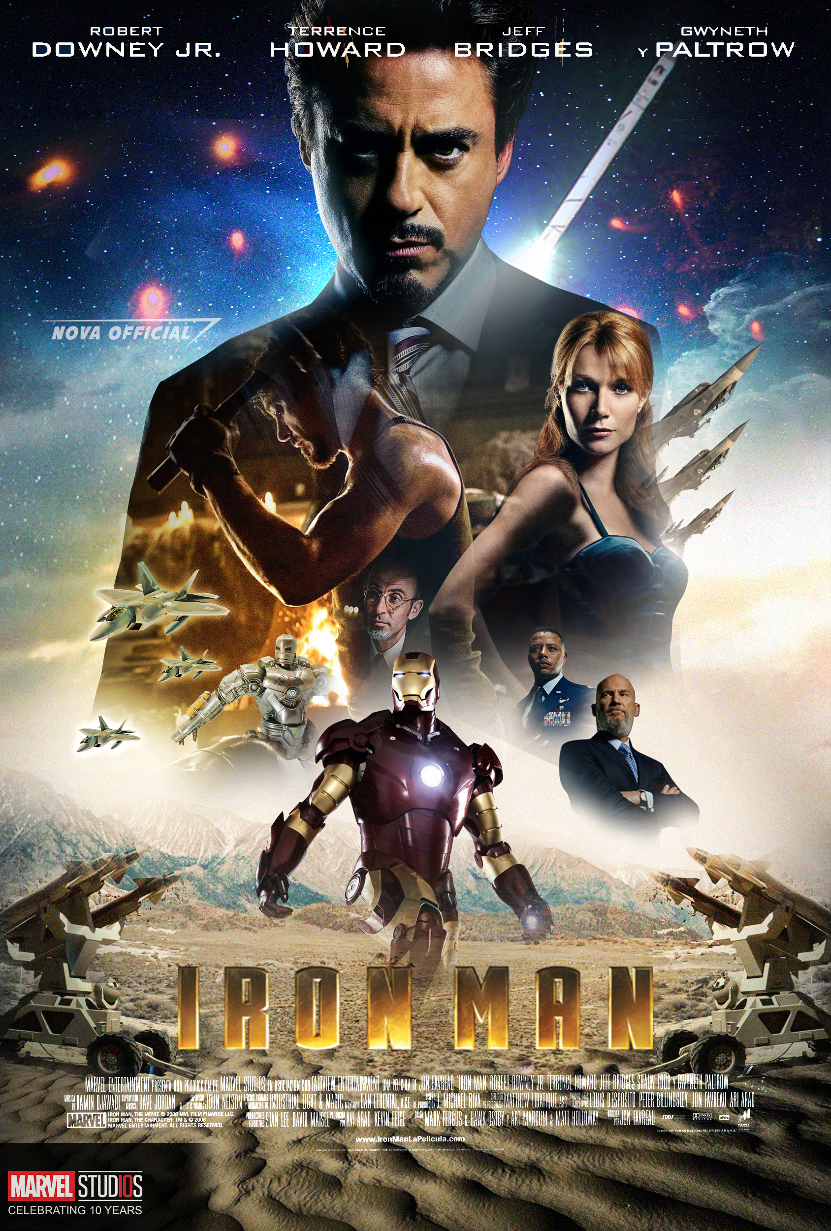 Iron Man 2008 Poster by iamtherealnova on DeviantArt