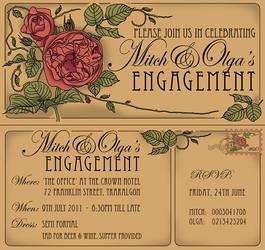 nouveau invitations