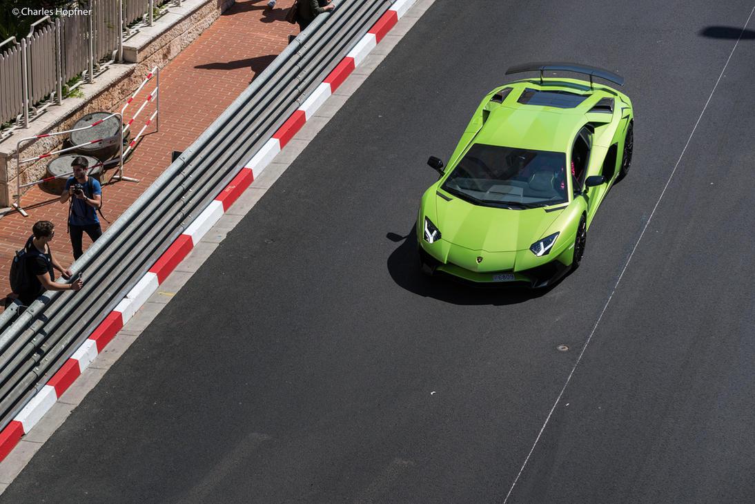 Aventador SV - Green by Charles-Hopfner