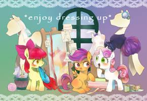 enjoy dressing up by chi-hayu