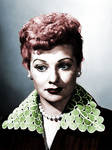 Lucille Ball Colorized 4