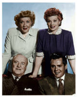 I Love Lucy Colorized by ajax1946
