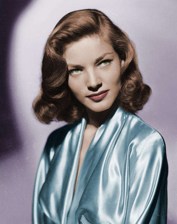 Lauren Bacall Colorized by ajax1946