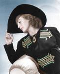 Joan Crawford Colorized 2