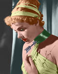 Ingrid Bergman Colorized