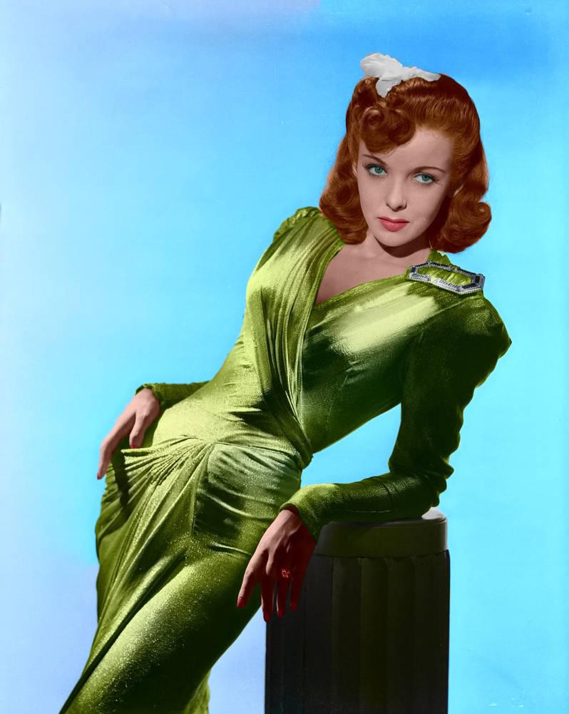 Ida Lupino Colorized
