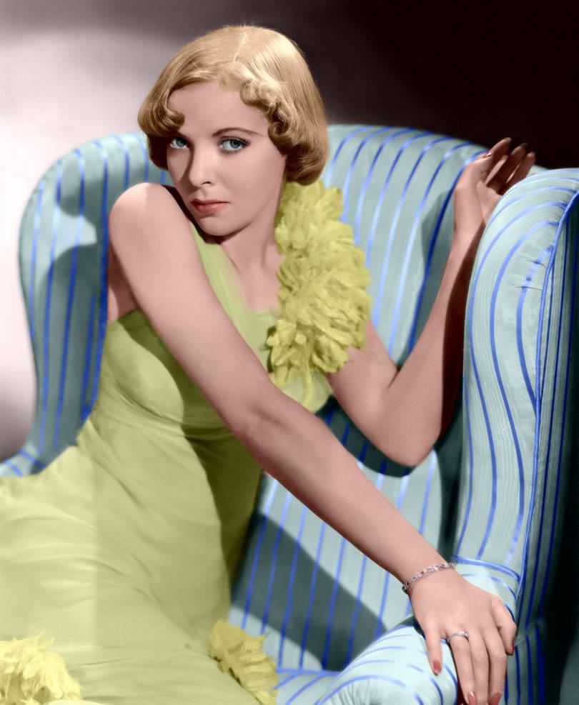 Ida Lupino Colorized 2