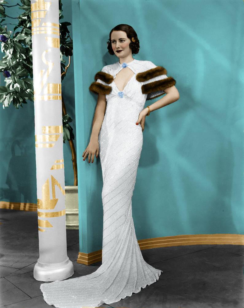Barbara Stanwyck Colorized 2