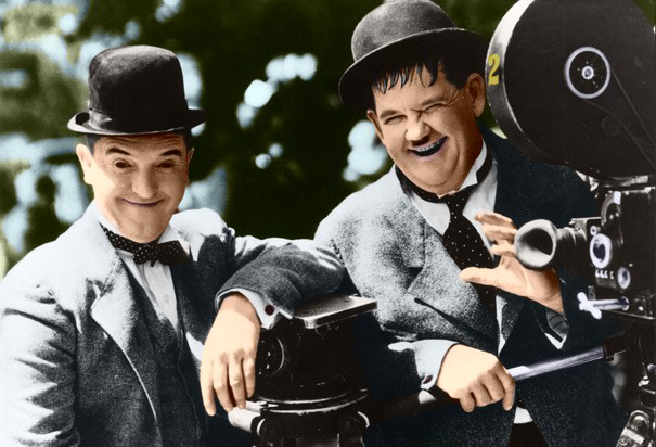 Laurel and Hardy 4 by ajax1946 on DeviantArt