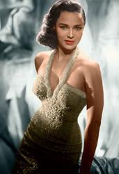 Dorothy Dandridge Colorized by ajax1946