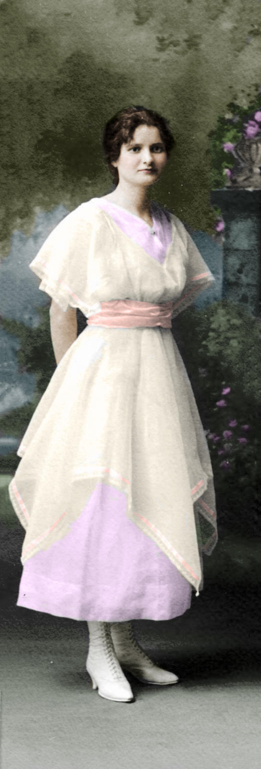 Unknown Lady 829 by ajax1946