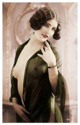 Vintage Nude 343 by ajax1946