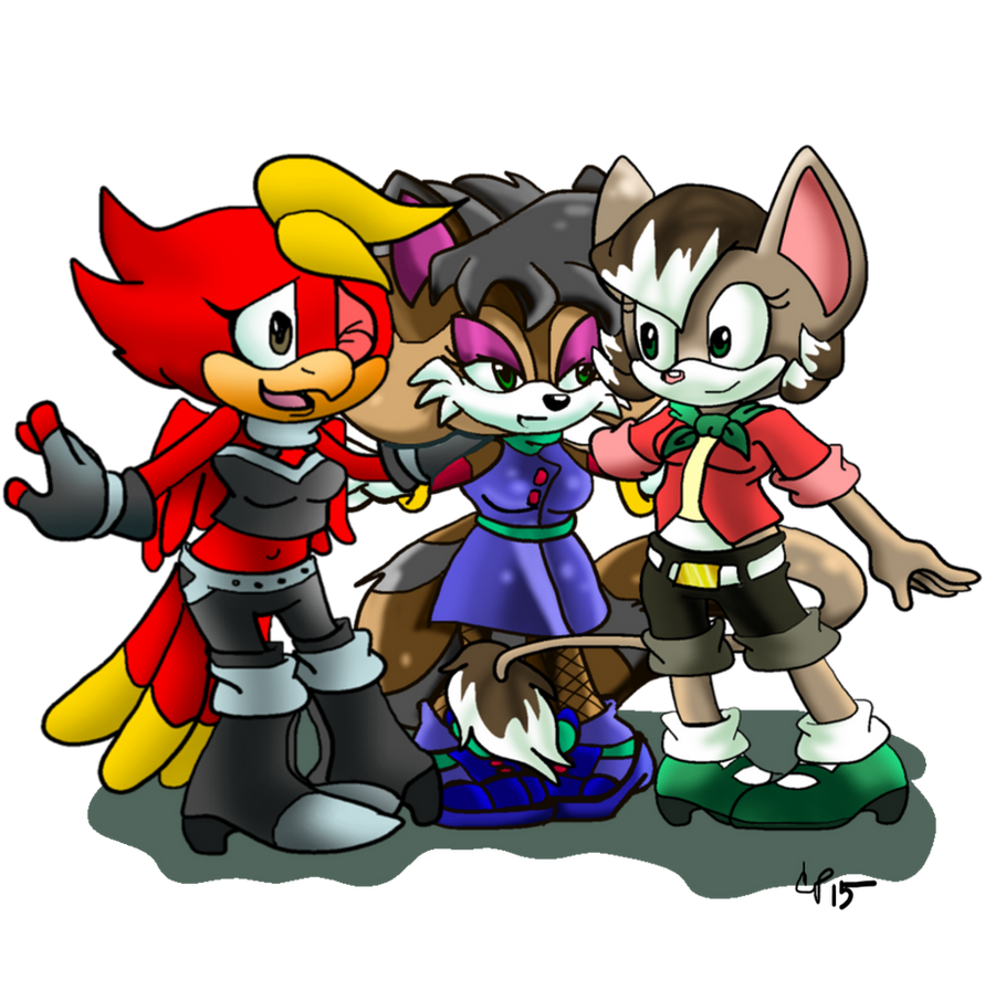 Meet Team Hopscotch by YukiCos