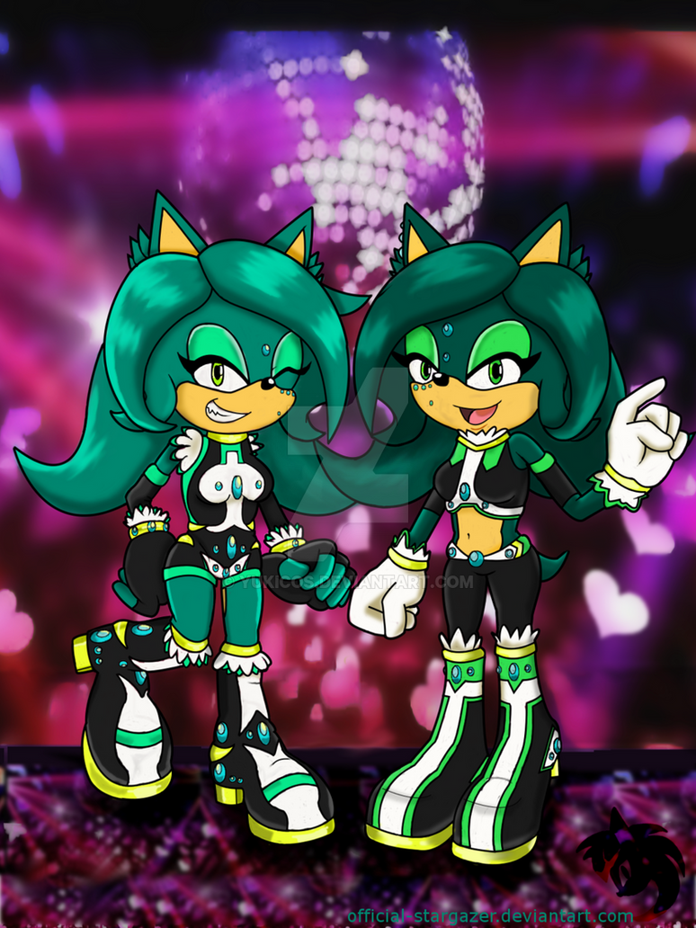 The Hedegehog Sisters Aya and Allie! by YukiCos