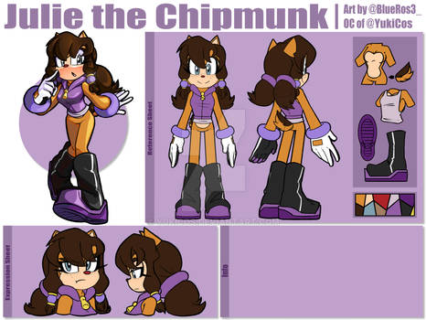 Julie the Chipmunk