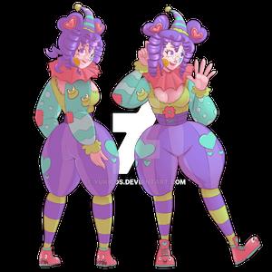 Lavender Dream the Clown