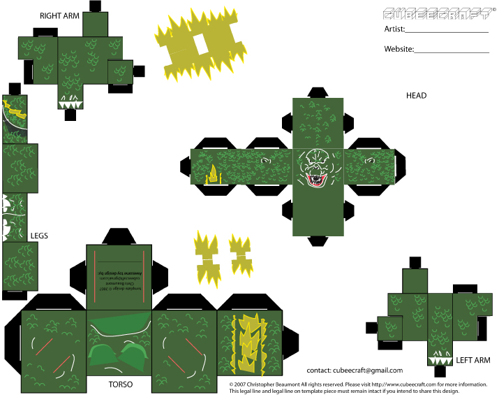 This New 617 Papercraft Godzilla Template  For more detail please