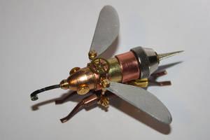 Steampunk bee by hardwidge